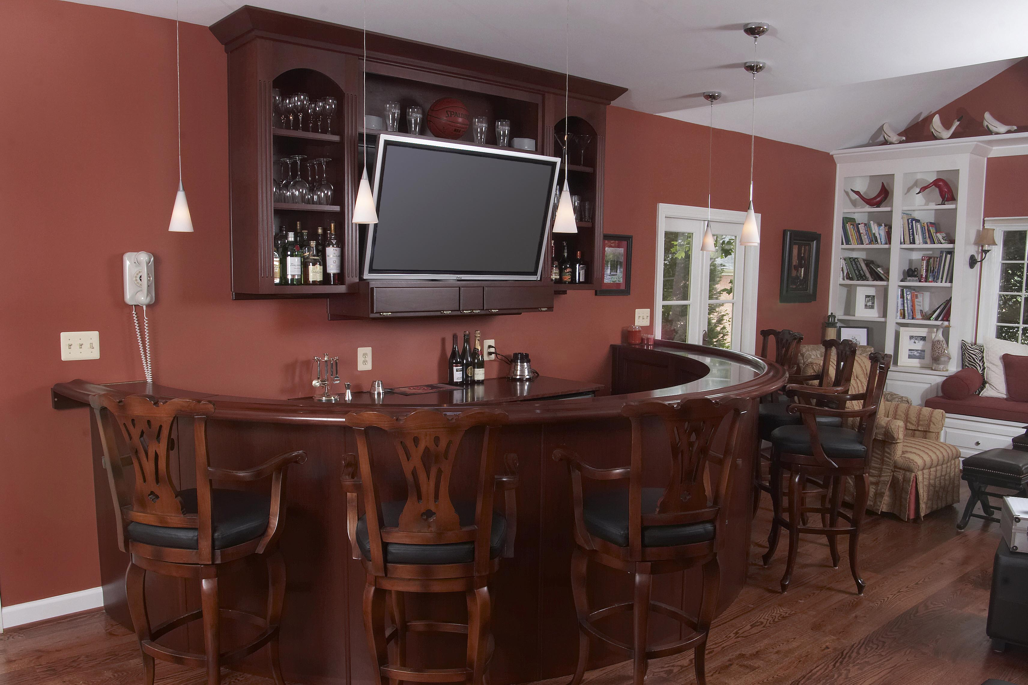 Custom home bars - Luxury home bar designs ...